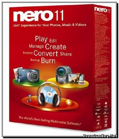 Nero Multimedia Suite 11.2.01000 (2012)