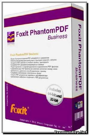 Foxit PhantomPDF Business 5.2.1.0615 (2012) Rus/Eng