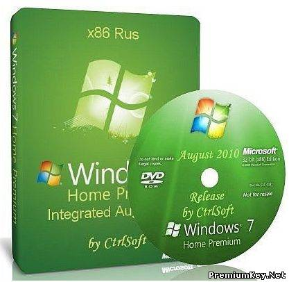 Microsoft Windows 7 Home Premium x86 Rus