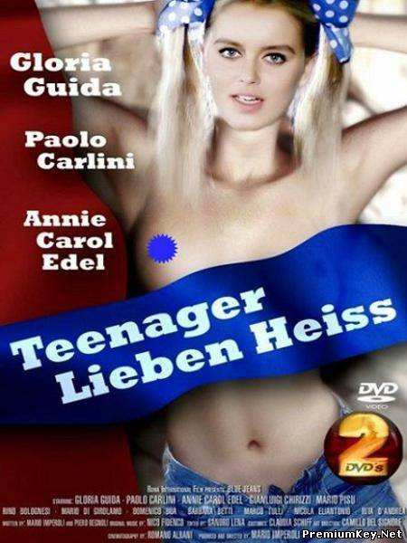 Голубые джинсы / Blue Jeans / Teenager Lieben Heiss (1975/DVDRip)