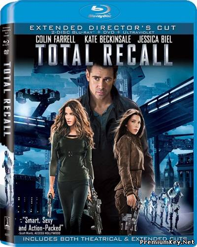 Вспомнить всё / Total Recall (2012) DVDRip + DVD + HDRip