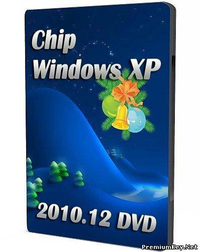 Chip Windows XP 2010.12 DVD