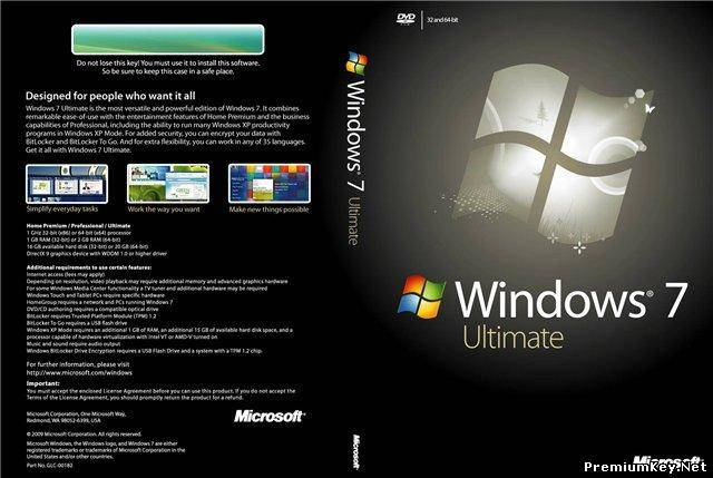Windows 7 Ultimate Service Pack 1 RC v.721 (x86/Rus/2010)