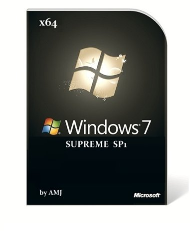 Windows 7 SUPREME x64 SP1 (2011/Multi/Rus) by AMJ
