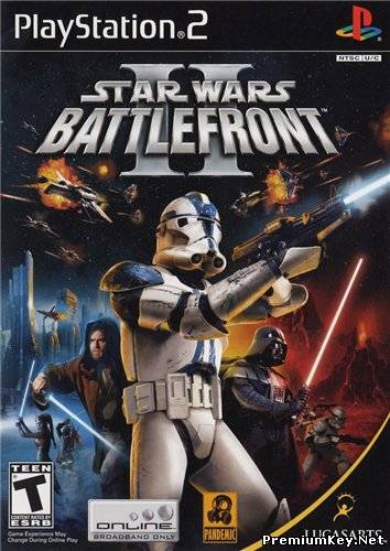 Star Wars: Battlefront 2 (2005/PS2/RUS)