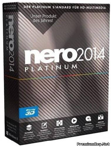 Nero 2014 Platinum 15.0.02200 Final ML/Rus + Content Pack (19.09.2013)