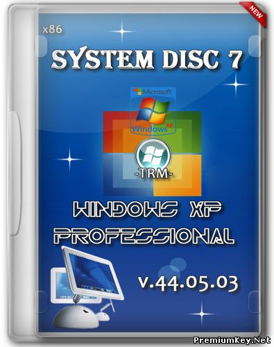 System disc 7 - Windows XP Professional SP3 Rus v.44.05.03 (21.05.2014)