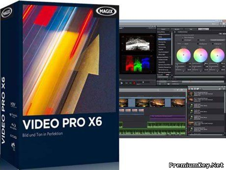 MAGIX Video Pro X6 13.0.5.9 [Rus/Eng,Content Pack]