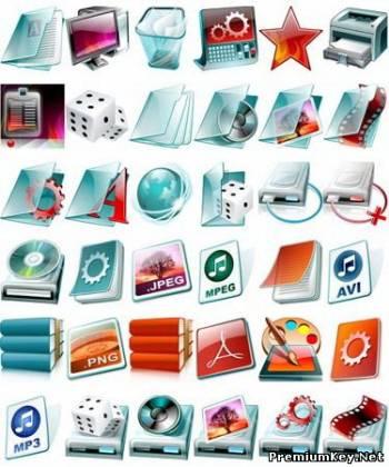 Красивые иконки на рабочий стол ...: www.premiumkey.net/load/soft/ukrashenija_dlja_windows/krasivye...