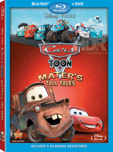 Тачки: Байки Мэтра [Сезон 1-2] / Cars Toon: Mater's Tall Tales [Season 1-2] (2008-2010) Blu-ray Disc